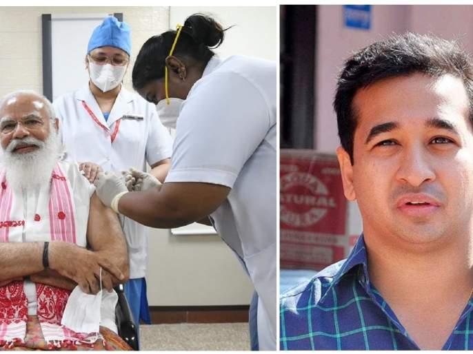 26,000 covid vaccines fall unused in district! | जिल्ह्यात २६ हजार कोव्हीड लस विनावापर पडून -नितेश राणेंचा गौप्यस्फोट