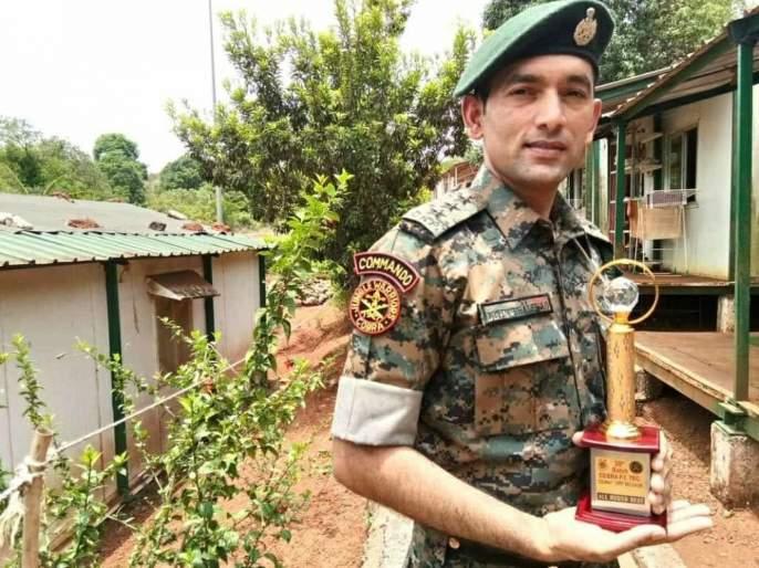 assistant commandant Nitin Bhalerao martyred in IED blast in Chhattisgarh | नाशिकचे नितीन भालेराव छत्तीसगडमध्ये नक्षलींनी घडवलेल्या आयईडी स्फोटात शहीद