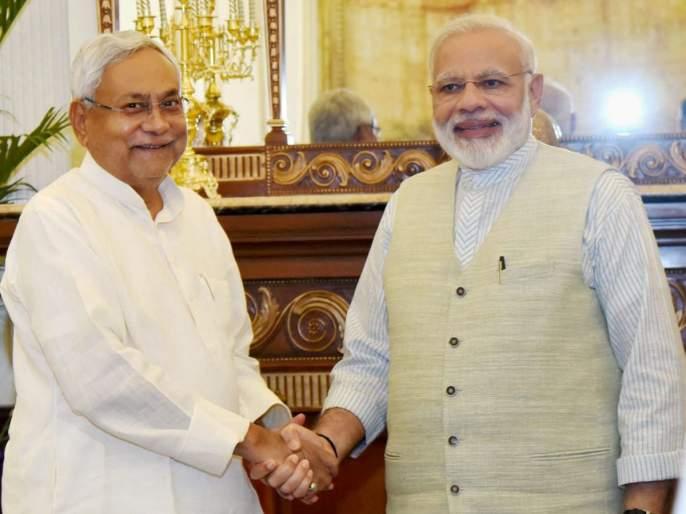 JD (U) along with Rallo in Bihar elections | बिहार निवडणुकीत जदयू रालोआसोबतच; नितीशकुमार यांनी केले स्पष्ट