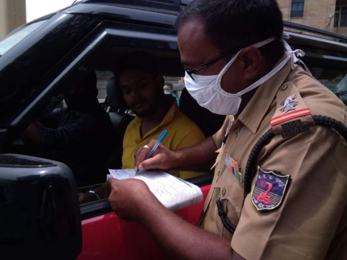 276 citizens fined for not wearing mask in Nagpur | नागपुरात मास्क न लावणाऱ्या २७६ नागरिकांना दंड