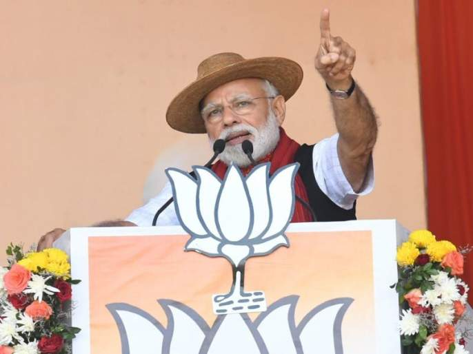 Modi's 'Tihar' gesture? Gluttony statement in Gondiya meeting | मोदींचा 'तिहार' इशारा कोणाकडे? गोंदियातील सभेतलं खळबळजनक वक्तव्य