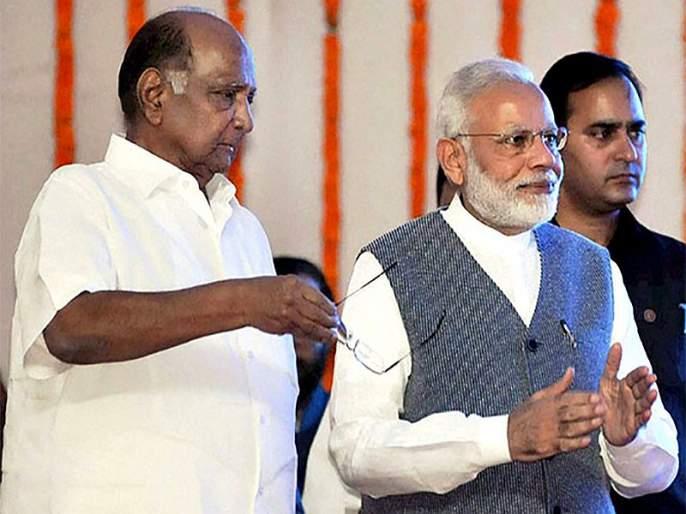 Maharashtra Election 2019: 'Sharad Pawar wants publicity', Modi's cornerstone over viral video in election rally   Maharashtra Election 2019 Video : 'पवारांना प्रसिद्धीचा हव्यास', व्हायरल व्हिडीओवरुन मोदींची कोपरखळी