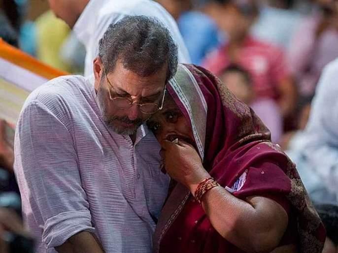 'Don't cry, everything will be fine', says Nana Patekar to build 500 houses for flood victims in sangli and satara   'रडायचं नाही, सगळं ठीक होईल', पूरग्रस्तांना 500 घरं बांधून देणार नाना