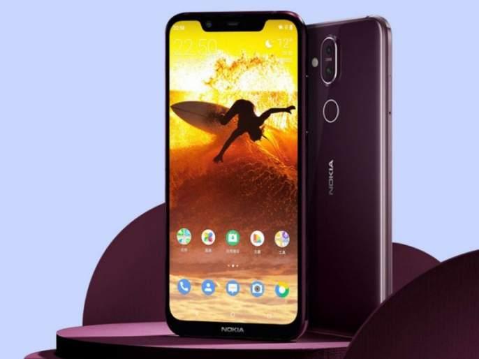 Nokia's premium smartphone Nokia 8.1 launched with Camera with 12 megapixel with dual flash | नोकियाचा प्रिमिअम स्मार्टफोन लाँच; 12 मेगापिक्सल ड्युअल कॅमेरासह ड्युअल फ्लॅशही