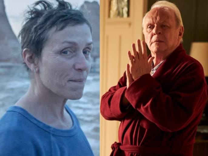 Oscars 2021: Nomaland wins three awards, Anthony Hopkins named Best Actor | Oscars 2021 : 'नोमालँड'ने जिंकले तीन अवॉर्ड, अँथोनी हॉपकिन्स ठरले बेस्ट अ‍ॅक्टर