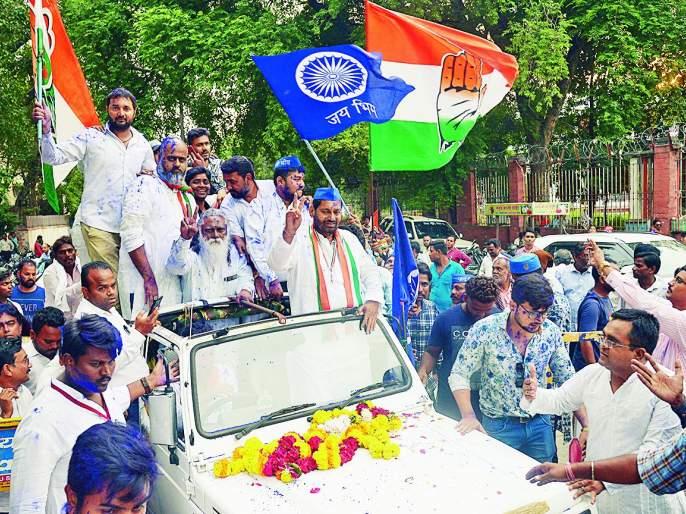 Nagpur North Election Results: Milind Mane Vs Nitin Raut | Nagpur North Election Results : उत्तरच्या गडावर काँग्रेस पुन्हा विराजमान : नितीन राऊत यांचा एकतर्फी विजय