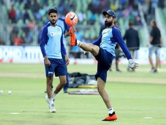 India vs West Indies, 2nd T20I: No place for Sanju Samson in 2nd T20I match, fan's upset on Virat Kohli decision | India vs West Indies: विराटनं केलं चाहत्यांना निराश, नाणेफेक झाल्यानंतर केली नकोशी घोषणा