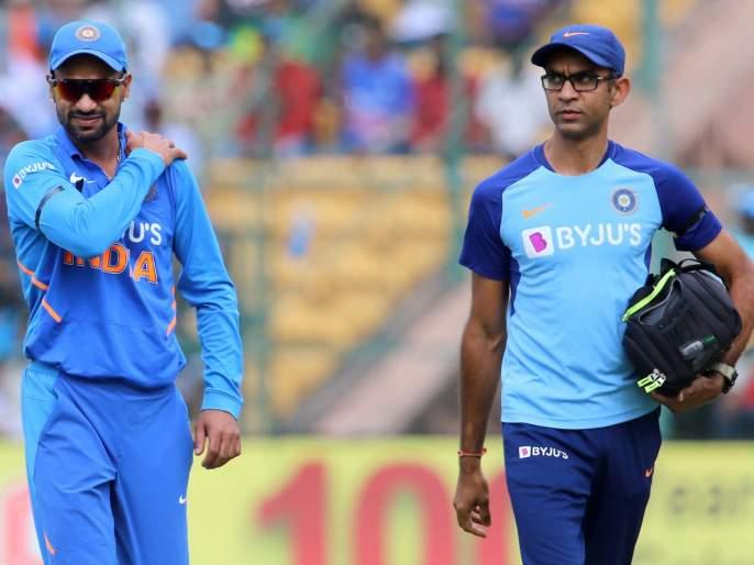 Shikhar Dhawan ruled out of cricketing action for 10 weeks due to shoulder injury | शिखर धवनची दुखापत गंभीर, प्रदीर्घ कालावधीपर्यंत राहणार क्रिकेटपासून दूर