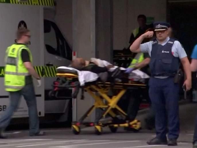 Firing in New Zealand; Live jokes on Facebook | न्यूझीलंडमध्ये गोळीबार; फेसबुकवर लाइव्ह थरार