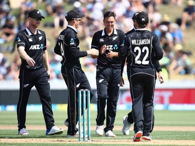 ICC World Cup 2019 : New Zealands Fined For Slow Over-rate Against West Indies | ICC World Cup 2019 : न्यूझीलंडच्या संपूर्ण संघासह सपोर्ट स्टाफला झाली शिक्षा, नेमकं घडलं तरी काय?