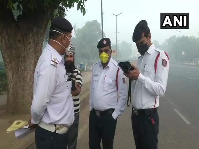 Odd-even vehicle scheme comes into force in Delhi, it will continue till 15th November | Delhi Pollution : दिल्लीमध्ये आजपासून सम-विषम नियम लागू