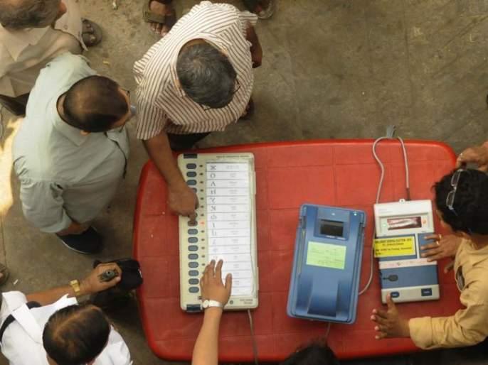 Angered by not giving allowance to the polling booth   मतदान केंद्र अधिकाऱ्यांना भत्ता न दिल्याने नाराजी