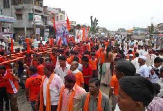 Javanabhishek of Sohnamathala of Kawardhari devotees | कावडधारी भाविकांचा सोहंमनाथाला जलाभिषेक