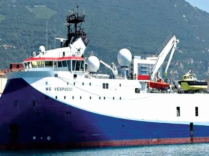 Again the ONGC Survey Wharf; Varvanta on fishermen's business | पुन्हा ओएनजीसी सर्व्हेचा घाट; मच्छिमारांच्या व्यवसायावर वरवंटा