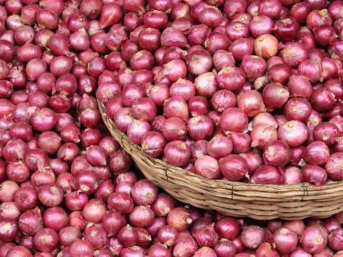 Onion prices falling: Potato however stable | कांद्याच्या दरात घसरण : बटाटा मात्र स्थिर