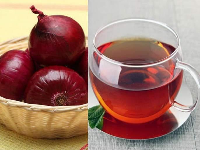 benefits of Special Onion tea in winter | हिवाळ्यात कांद्याचा चहा वेगवेगळ्या समस्यांवर ठरतो रामबाण उपाय!