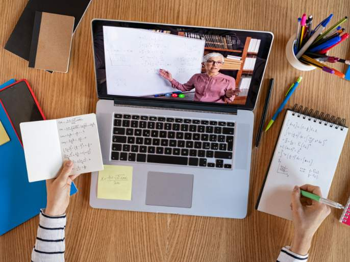 Online education: Government ban on pre-primary to second class, but school silver | ऑनलाईन शिक्षण : पूर्व प्राथमिक ते दुसरी इयत्तेवर शासनाची बंदी, मात्र शाळांची चांदी