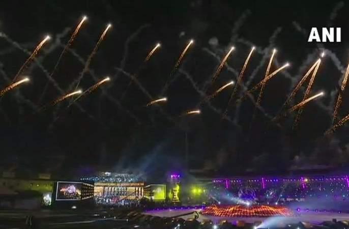 Hockey World Cup 2018: Hockey World Cup inaugurated with a spectacular celebration | Hockey World Cup 2018 : दिमाखदार सोहळ्याने हॉकी विश्वचषकाचे उद्घाटन
