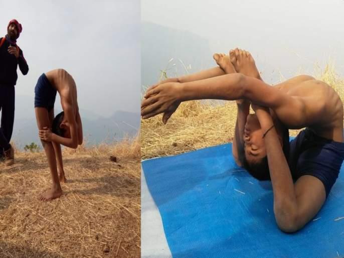 Surprised by the yoga achievement of 11-year-old Siddhesh; Government appeals for cooperation and guidance | ११ वर्षीय सिद्धेशच्या योगसिद्धीमुळे सारेच थक्क; शासनाने सहकार्य अन् मार्गदर्शन करण्याचे आवाहन