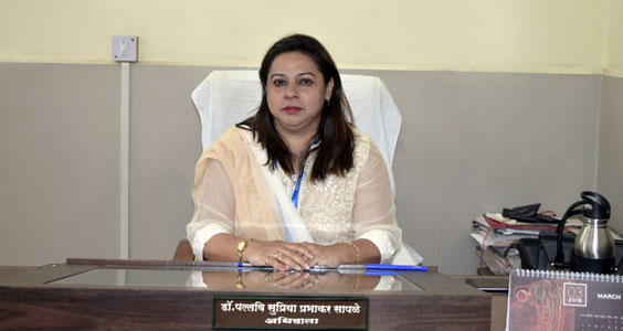 Appointment of Dr. Pallavi Saple as the Head of JJ Hospital   जे जे रुग्णालयाच्या अधिष्ठातापदी डॉ पल्लवी सापळे यांची नियुक्ती