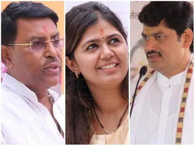 Shiv sena BJP strong in Beed, NCP still disturb   बीडमध्ये युतीची बसली, तर राष्ट्रवादीची 'घडी' विस्कटलेलीच