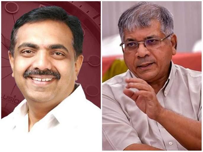 Jayant Patil save to Sambhaji Bhide ; Ambedkar's allegations | संभाजी भिडेंच्या बचावाचा आरोप करत जयंत पाटील-प्रकाश आंबेडकर आमने-सामने