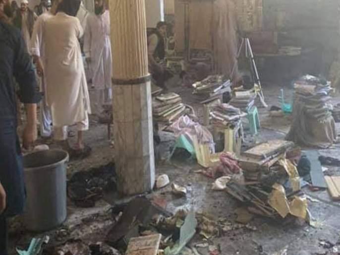 Pakistan Five killed 26 injured in blast at Peshawar madrasa | पाकिस्तान हादरलं! पेशावरमधील मदरशात मोठा स्फोट; ७ बालकांचा मृत्यू, ७० हून अधिक जखमी