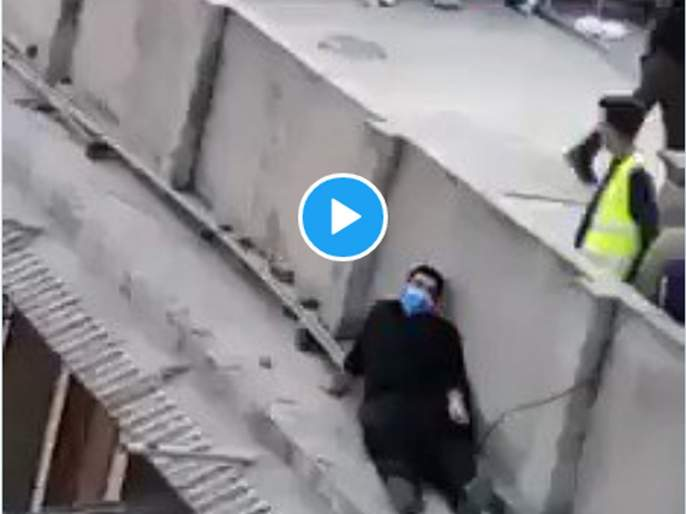 Thief-cop! viral video of Pakistani police who will try to catch police | चोर-पोलीस! पाकिस्तानचा हा Video पहाल तर, हसून हसून बेजार व्हाल...