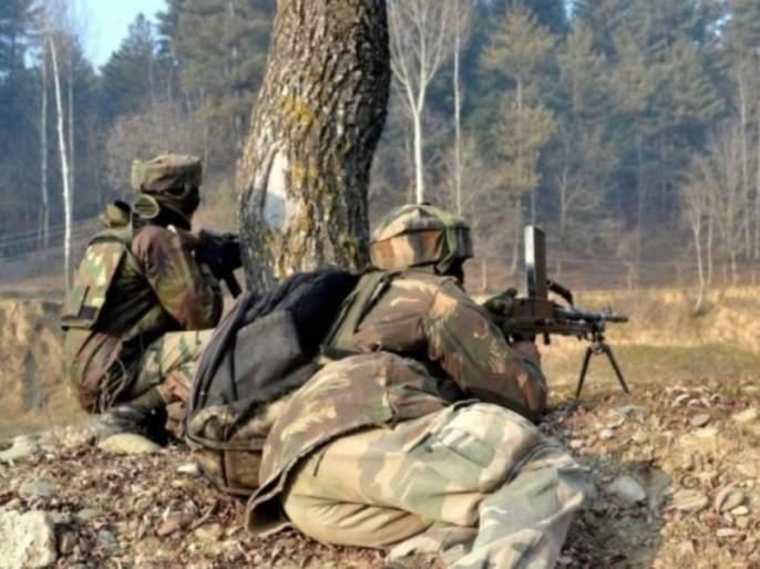 Pakistan again violates ceasefire, two Indian soldiers martyred   सीमारेषेवर पाकिस्तानच्या कुरापती सुरूच, भारताचे दोन जवान शहीद