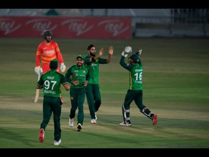 2nd time Left-arm bowlers taking all 10 wickets in an ODI inning; Pakistan win 1st ODI against Zimbabwe by 26 runs | PAK vs ZIM, 1st ODI : झिम्बाब्वेवर विजयासाठी पाकिस्तानला गाळावा लागला घाम; भारताच्या विक्रमाशी शेजाऱ्यांची बरोबरी