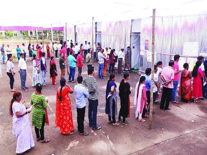 Maharashtra Election 2019:Polling drops in Panvel, Navi Mumbai | पनवेल, नवी मुंबईत मतदानाचा टक्का घसरला