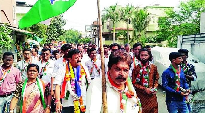 Maharashtra Assembly Election 2019: Development strategy will be implemented till last fall: Girish Pandav | Maharashtra Assembly Election 2019 : शेवटच्या घटकापर्यंत विकासात्मक धोरण राबविणार : गिरीश पांडव