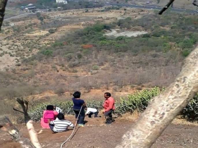 Husband and wife 'Rescue': trekking tremors and thrills full of horror | पती-पत्नी 'रेस्क्यू' : ट्रेकिंगच्या थराराने रोमांच अन् उरात भरली धडकी