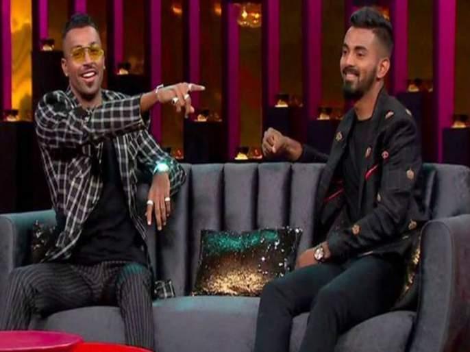Female cricketer's Demand To Ban K L Rahul & Hardik Pandya Due To The Controversial Statements In Koffee With Karan   माफी पुरेशी नाही, पांड्या व राहुल यांच्यावर बंदी घाला; महिला क्रिकेटपटूची मागणी