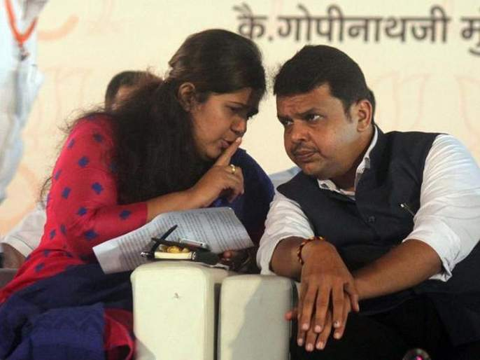 felt shocking after watching devendra fadnavis and ajit pawar taking oath says bjp leader pankaja munde | देवेंद्र फडणवीस, अजित पवारांचा शपथविधी पाहून कसं वाटलं?; पंकजांनी स्पष्ट मत मांडलं