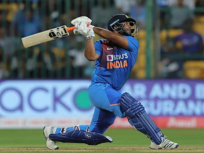 India vs South Africa 3rd T20 Rishabh confused over the choice of lashes   India vs South Africa 3rd T20: फटक्यांची निवड करण्यावरून रिषभ संभ्रमात