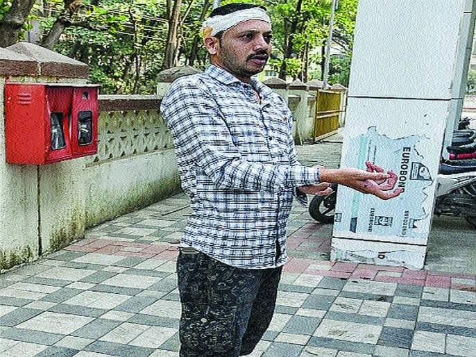 Panvel kills bodyguard; Complaint against fourteen including ambulance driver   पनवेलमध्ये शवविच्छेदकाला मारहाण;रुग्णवाहिकाचालकासह चौघांविरोधात तक्रार