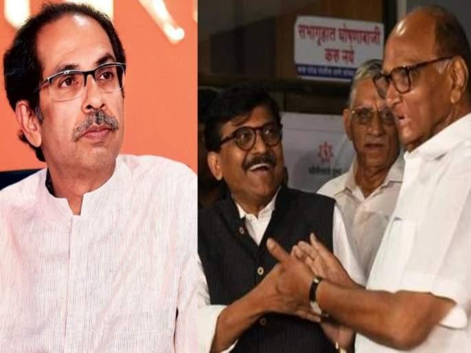 BJP leader Nitesh Rane has tount out at Shiv Sena leader Sanjay Raut | एक शरद, सगळे गारद... मग उद्धवजी पण गारद का?; संजय राऊतांना 'पॉवर'फुल टोला