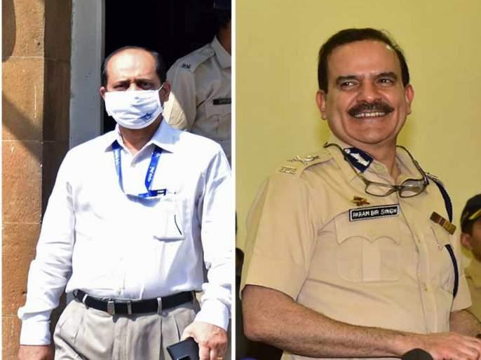 Sachin Vaze was posted in CIU upon Param Bir Singhs instructions reveals Mumbai Police report   Sachin Vaze: परमबीर यांनीच केली वाझेची नियुक्ती; नगराळे यांचा अहवाल