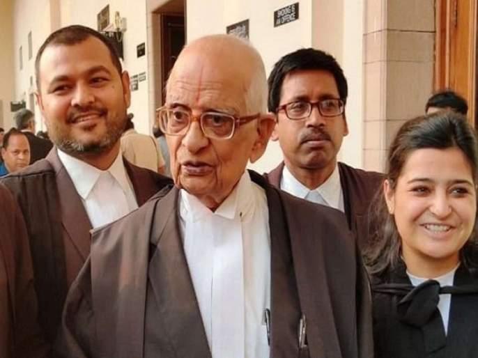 Ayodhya Verdict : The 92-year-old lawyer in the Ram Mandir case was arguably the decisive one | राममंदिर खटल्यात या 92 वर्षीय वकिलांचा युक्तिवाद ठरला महत्त्वपूर्ण, जाणून घ्या त्यांच्याविषयी