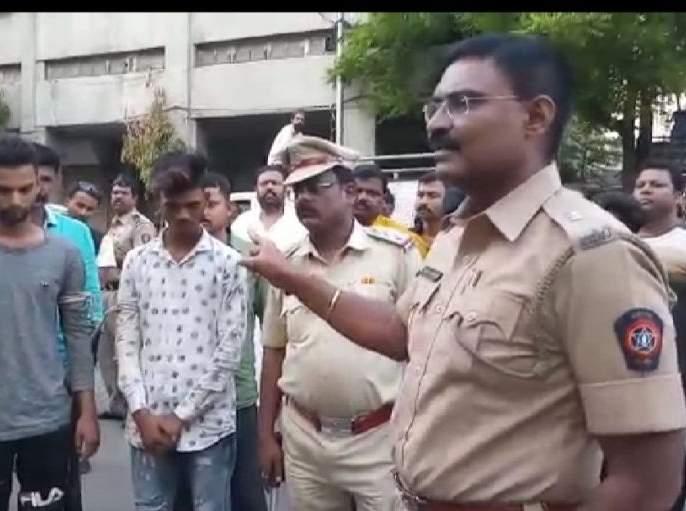 When Criminals Parade done: Unique initiative of Nagpur city police | जेव्हा गुन्हेगारांची झाली परेड : नागपूर शहर पोलिसांचा अनोखा पुढाकार