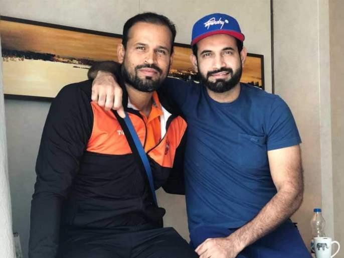 Irfan Pathan, Yusuf Pathan donate masks as Coronavirus scare grows in India svg | क्रिकेटपटू पठाण बंधूंची समाजसेवा; कोरोनाचा मुकाबला करण्यासाठी करतायत मदत