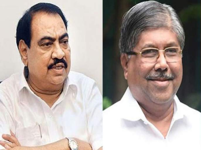 eknath khadse will not leave party says bjp leader chandrakant patil | नाराज एकनाथ खडसे भाजप सोडणार, राष्ट्रवादीत जाणार?; चंद्रकांत पाटील म्हणतात...