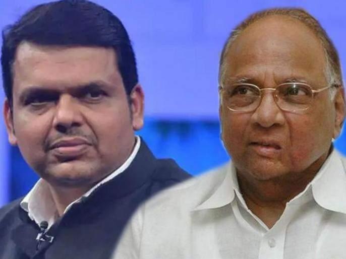 ncp chief sharad pawar slams devendra fadnavis led state govt | 'गड-किल्ल्यांवर दारूची दुकानं अन् छमछम, हा शिवबांचा महाराष्ट्र नव्हे'