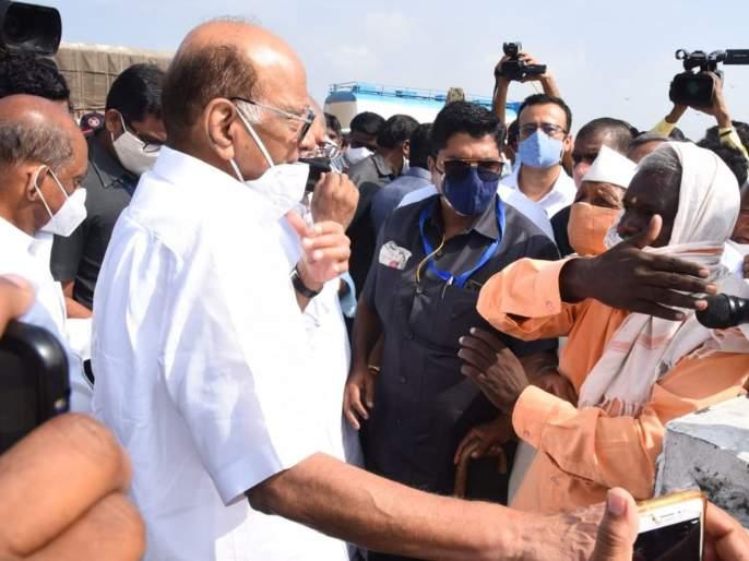 Limitations for state government central should also help says ncp chief Sharad Pawar | शेतकऱ्यांना मदत पुरवण्यात राज्य सरकारला मर्यादा, केंद्रानंही सहकार्य करावं- शरद पवार