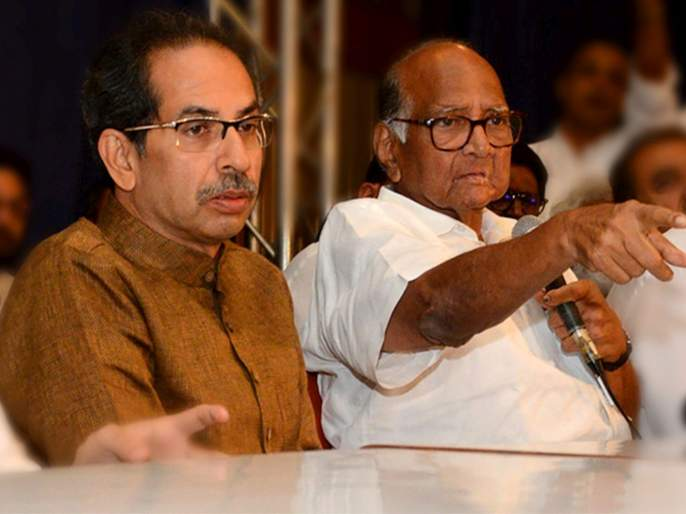 ncp chief sharad pawar clears parties stand on auranagabad osmanabad remane   औरंगाबाद, उस्मानाबादच्या नामांतरावर शरद पवारांचा स्ट्रेट ड्राईव्ह; एका वाक्यात स्पष्टच बोलले