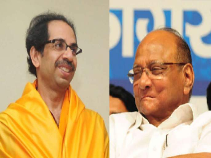 maharashtra election 2019 ncp chief sharad pawar hits out at shiv sena chief uddhav thackeray | महाराष्ट्र निवडणूक 2019: २५ वर्षं युतीत सडली म्हणाले, पण एकत्रच निवडणूक लढले; शरद पवारांचा उद्धव ठाकरेंना टोला