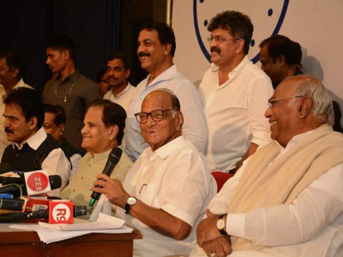 Maharashtra Election 2019 No final decision from Congress NCP about supporting shiv sena | महाराष्ट्र निवडणूक 2019: शिवसेनेचा पाठिंबा वेटिंगवरच; काँग्रेस-राष्ट्रवादीचा अंतिम निर्णय नाहीच!