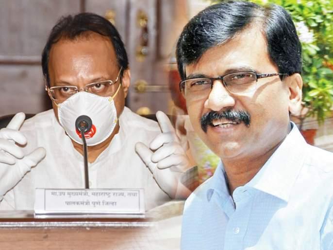 Shiv Sena Leader Sanjay Raut called Ajit Pawar as Doctor for one of his suggestion ajg   उपमुख्यमंत्री अजित पवारांना 'डॉक्टर' म्हणाले संजय राऊत; त्यामागे आहे एक खास कारण