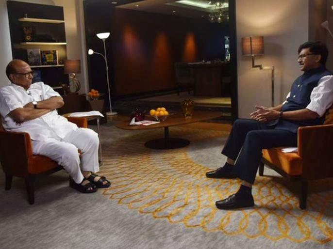 shiv sena mp sanjay raut shares teaser of ncp chief sharad pawar interview | VIDEO: एक शरद; सगळे गारद! संजय राऊत यांनी घेतलेल्या मुलाखतीचा टीझर आला